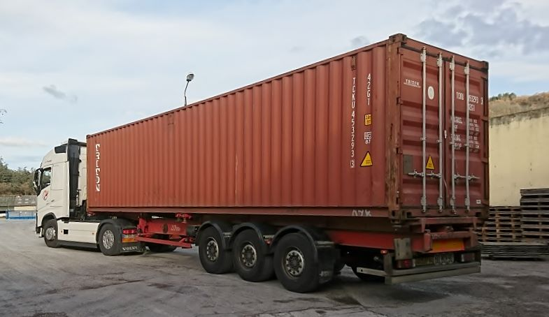 container for Taiwan